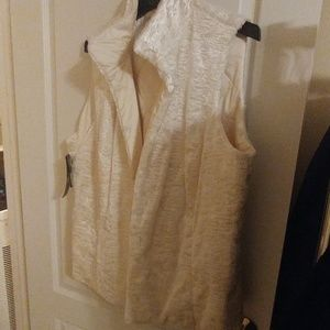 Ralph Lauren White Reversable Vest NWT 1X